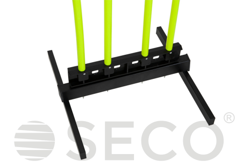 SECO® lime neon training dummy for football 175 cm